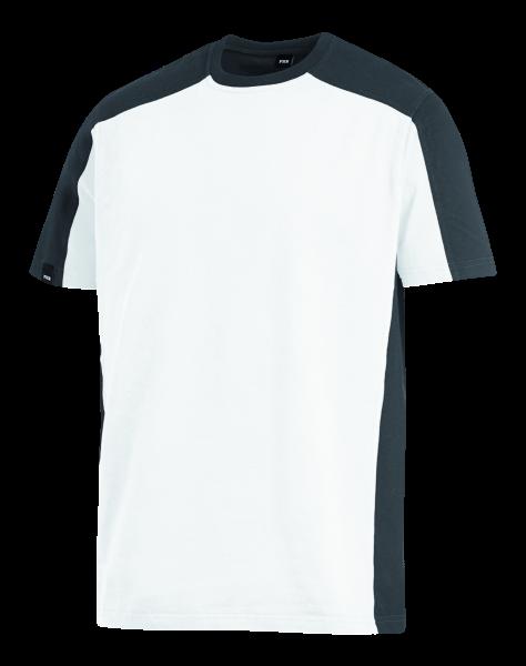 MARC T-Shirt, weiß/anthrazit