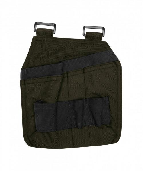 Dassy GORDON Canvas Werkzeugtasche, olivgrün/schwarz