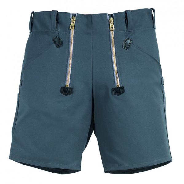 FHB WIM Zunft-Shorts Rips-Moleskin, grau