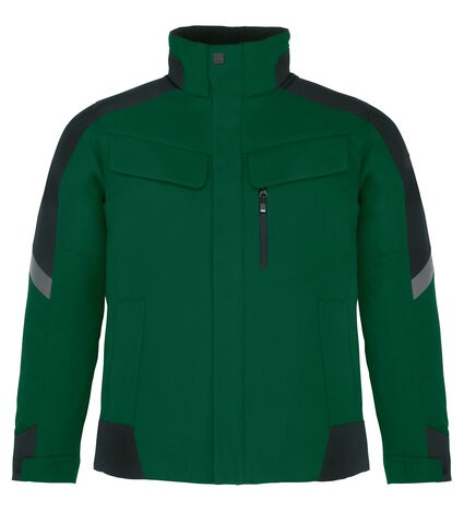 LARS Arbeitsjacke, grün-schwarz