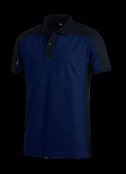KONRAD Polo-Shirt, marine-schwarz