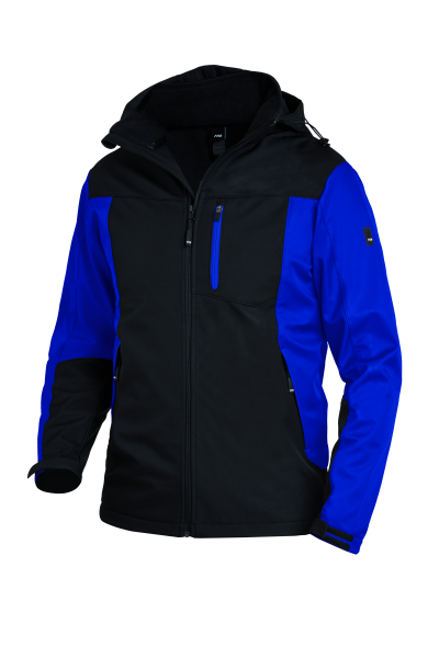 JANNIK Softshelljacke, royal-schwarz