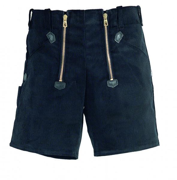 HANS Zunft-Shorts Genuacord, schwarz