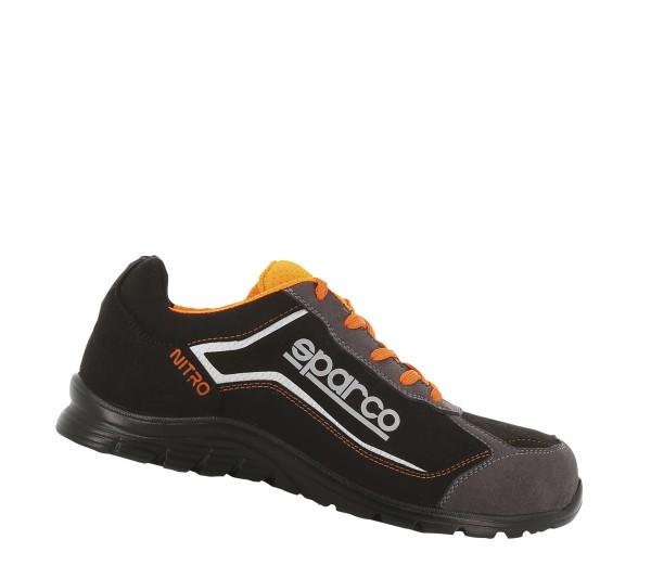 Sparco Nitro Black Orange S3