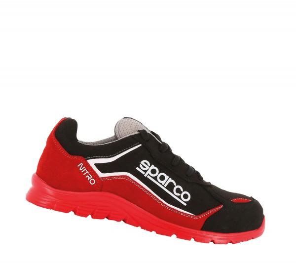 Sparco Nitro Black Red S3