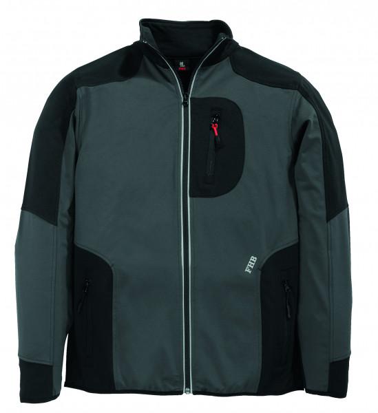 FHB Jersey-Fleece-Jacke FHB Fastdry  RALF  78461 1220-anthrazit-schwarz